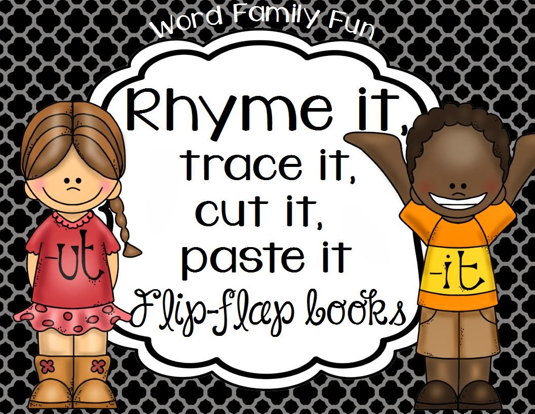 http://www.teacherspayteachers.com/Product/Rhyme-it-trace-it-cut-it-paste-it-Flip-flap-books-No-Prep-Print-Go-1029905