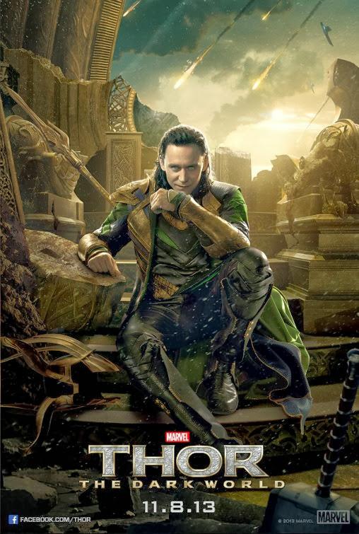 Loki Thor Dark World movie poster
