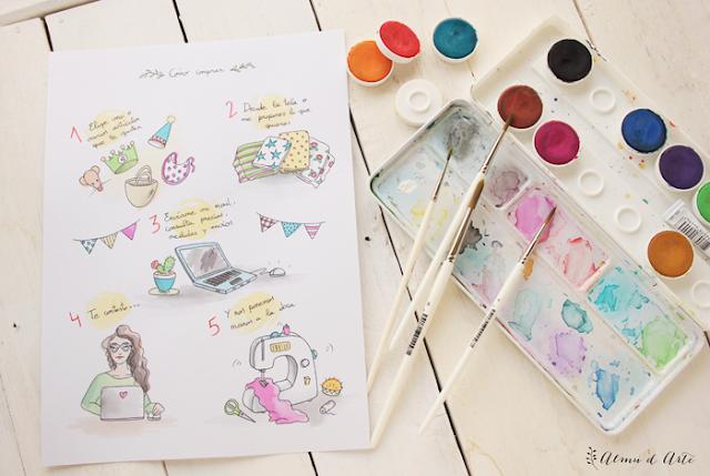 Ilustraciones para bloggers