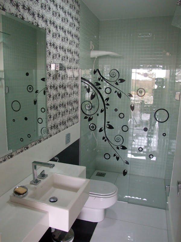 Adesivos Decoração Banheiros Modelos Diferentes # Adesivo Para Decoracao De Banheiro