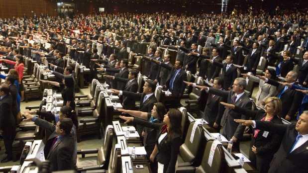 diputados y senadores de mexico: