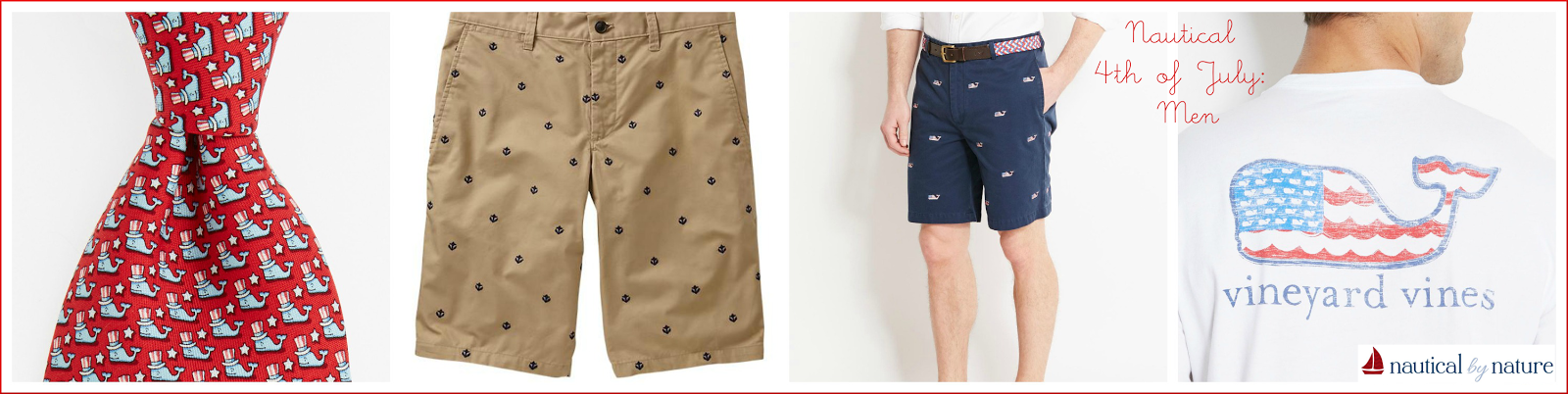 Nautical by Nature | 4th of July: Men