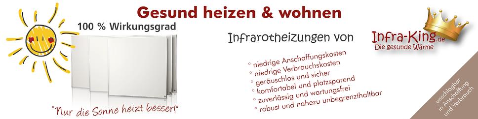 Infrarotheizungen von Infra-King.de