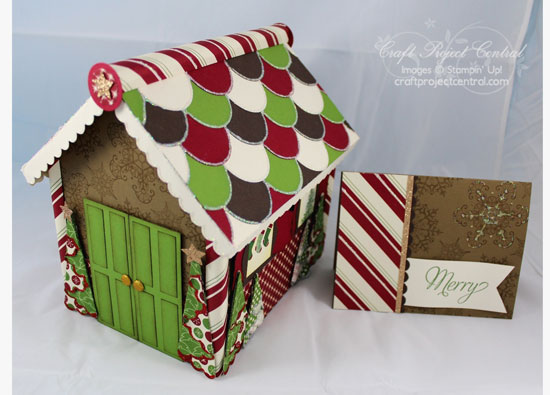 Cool Krafting Kreations Gingerbread House Box And Card Download Free Architecture Designs Rallybritishbridgeorg