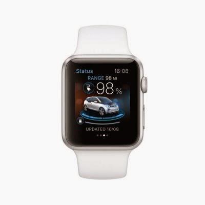 Apple Watch controleaza functiile modelelor BMW i