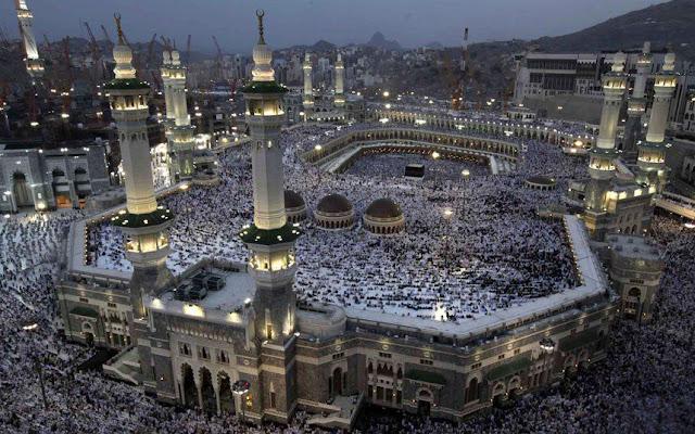 Free WiFi Service for Hujaj and Visitors in Masjid ul Haram.
