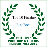 TOP TEN FINISHER BEST POET