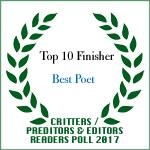 TOP TEN FINISHER BEST POET