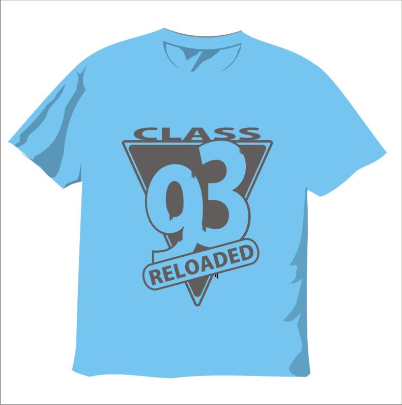 creative t-shirt design ideas: Class 93 t-shirt design
