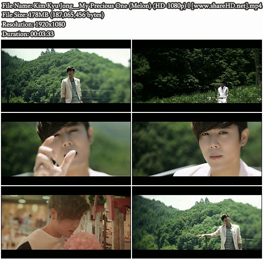 Download MV Kim Kyu Jong - My Precious One (Melon Full HD 1080p)
