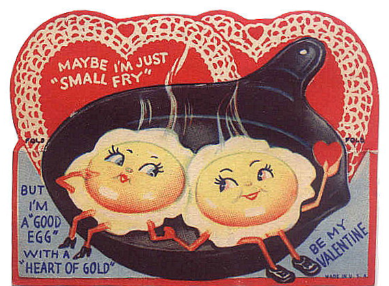 awesomely cool vintage Valentine's Day cards that you can print out.