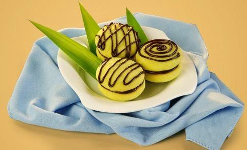 Resep Kue Pandan Choco Cookies Ala Blueband Enak
