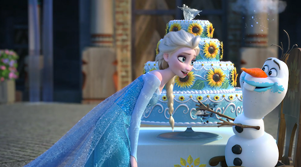 The First Footage From Disney's Animated Short 'Frozen Fever'
