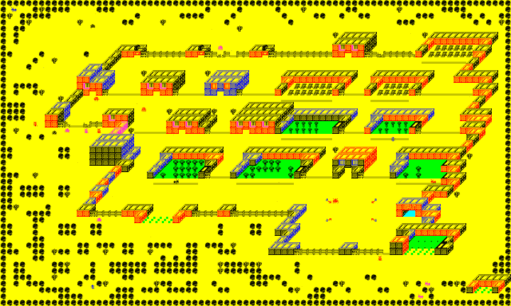 Colony ZX Spectrum map