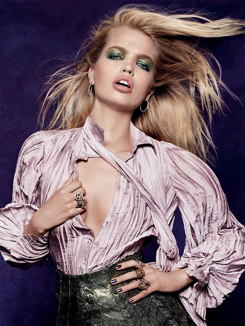 Model @ Daphne Groeneveld By Jason Kibbler For Vogue Russia August 2015