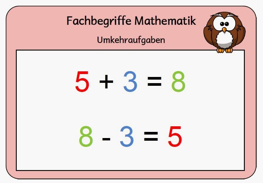 Mathe Merkplakate - Klasse 1 und 2 | Wahnsinnsklasse