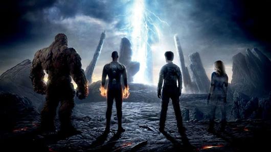 Escena de Cuatro Fantásticos (2015)