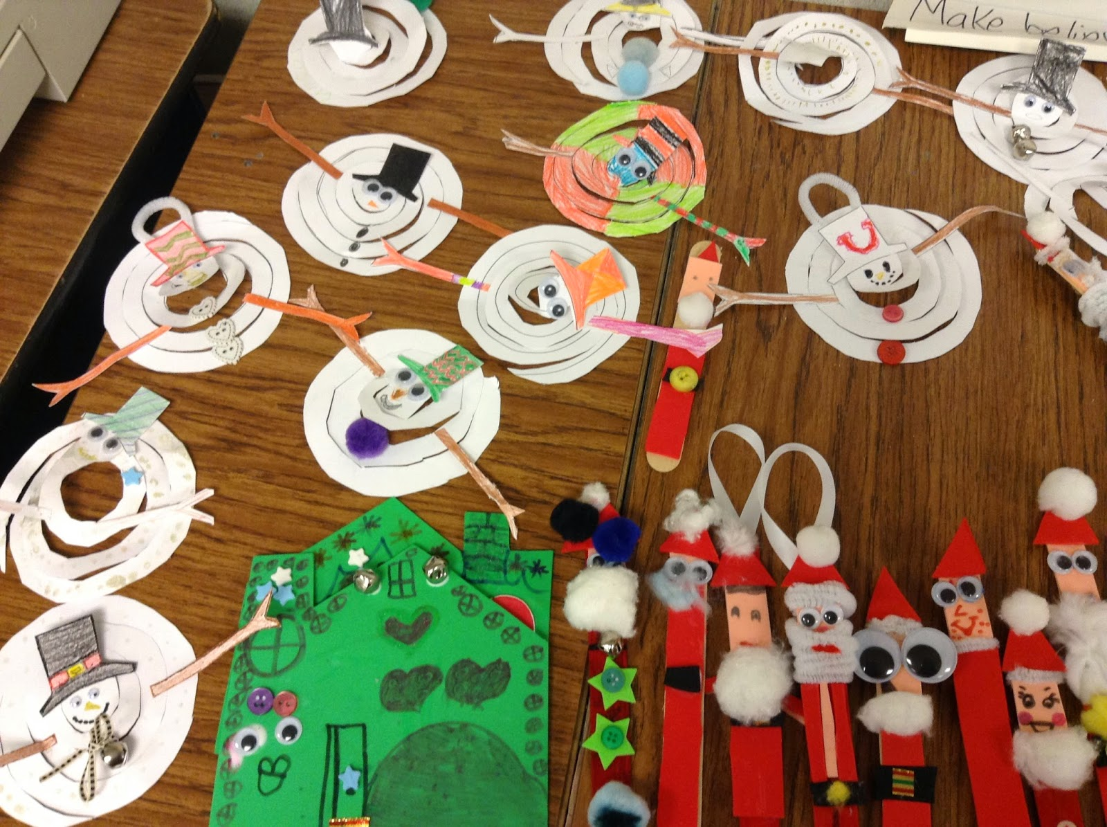 More than elementary christmas crafts for Stay at home craft jobs