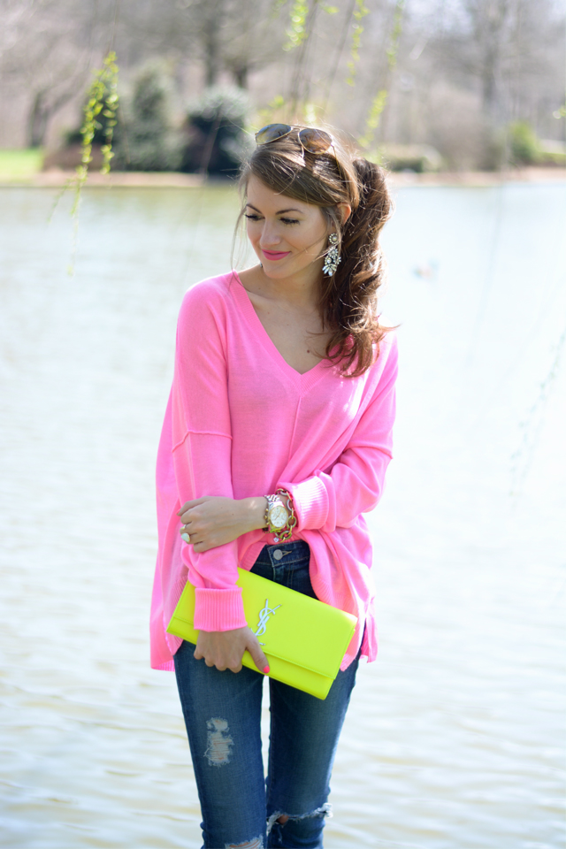 Cute, bright outfit for spring
