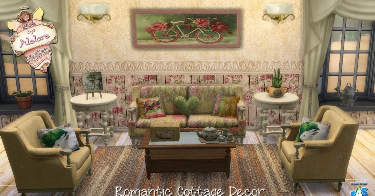 alelore sims blog romantic cottage decor
