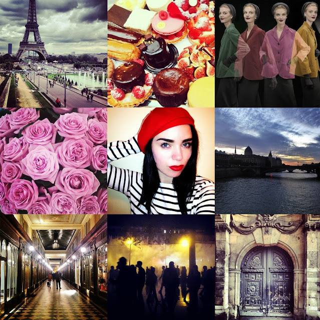 Paris fashion blogger Instagram photos