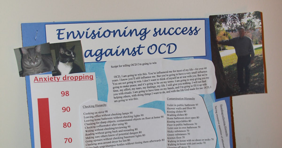 Obsessive compulsive Disorder Fighting Back