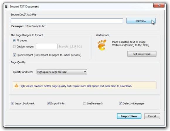 Chuyển đổi bất kỳ tài liệu văn bản thành ebook