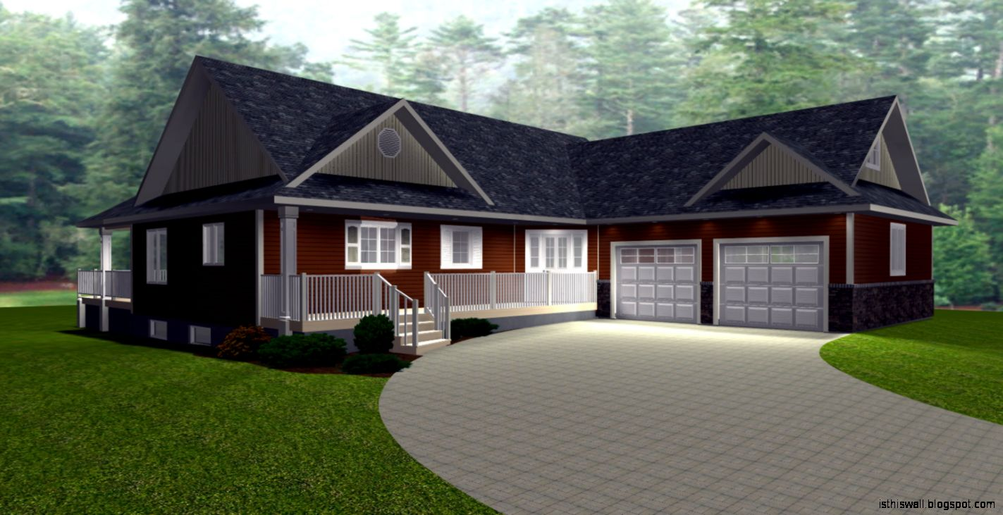 Ranch style home design this wallpapers for Cool house plans ranch