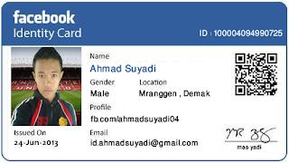 Cara Membuat ID CARD atau KTP Facebook