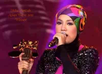 Shila Amzah Juara AsianWave 2012