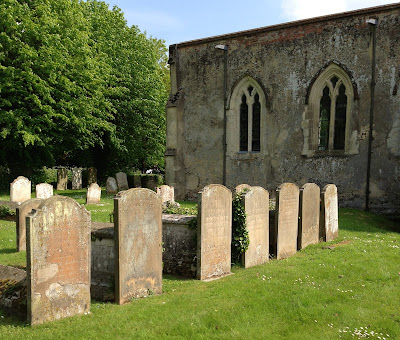 Cornwell and Price graves in Kedington, Suffolk