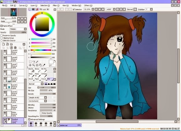paint tool sai 2 full download
