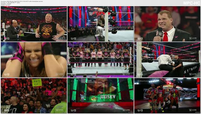 WWE Monday Night RAW 2015