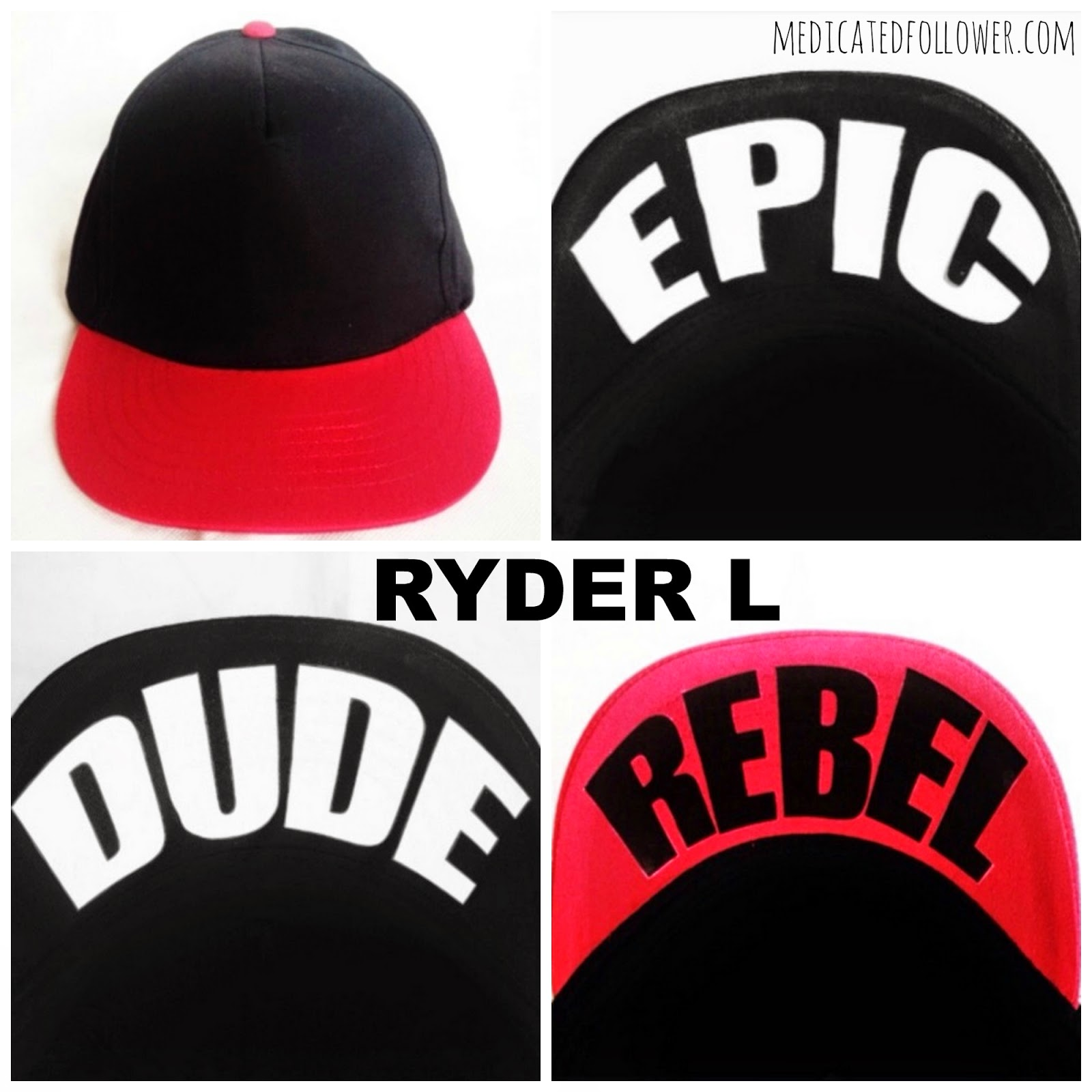 Ryder L, hats, caps