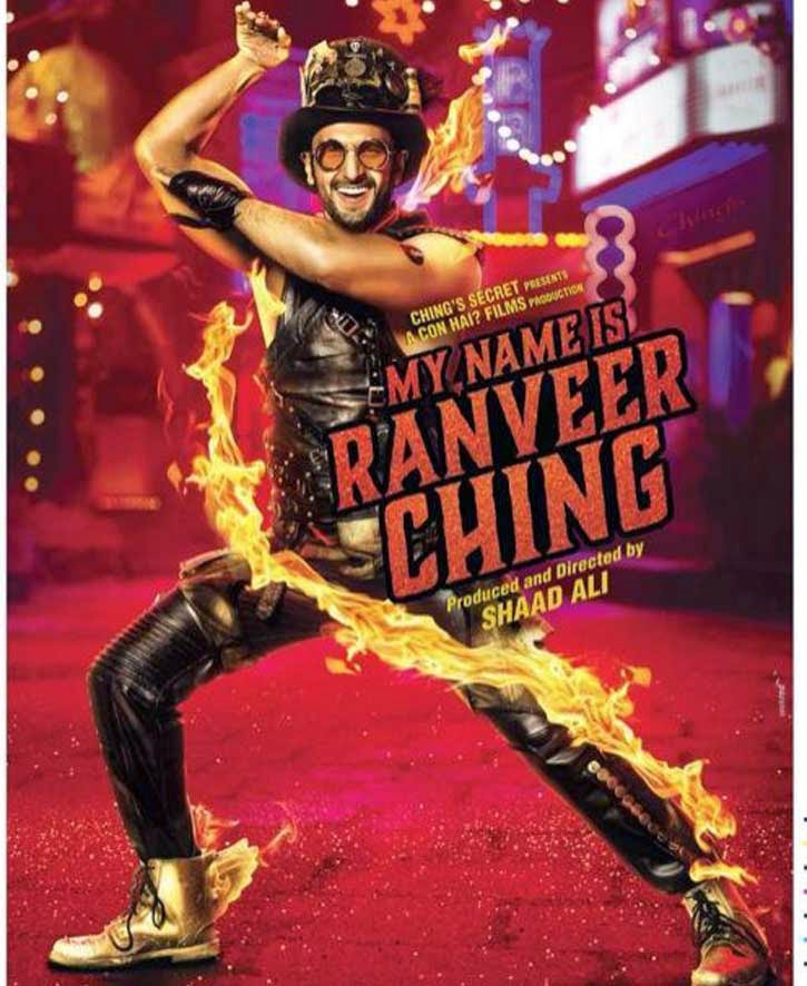 Ranveer Singh Wallpapers Posters of Movie ' my name is Ranveer Ranveer Ching '.