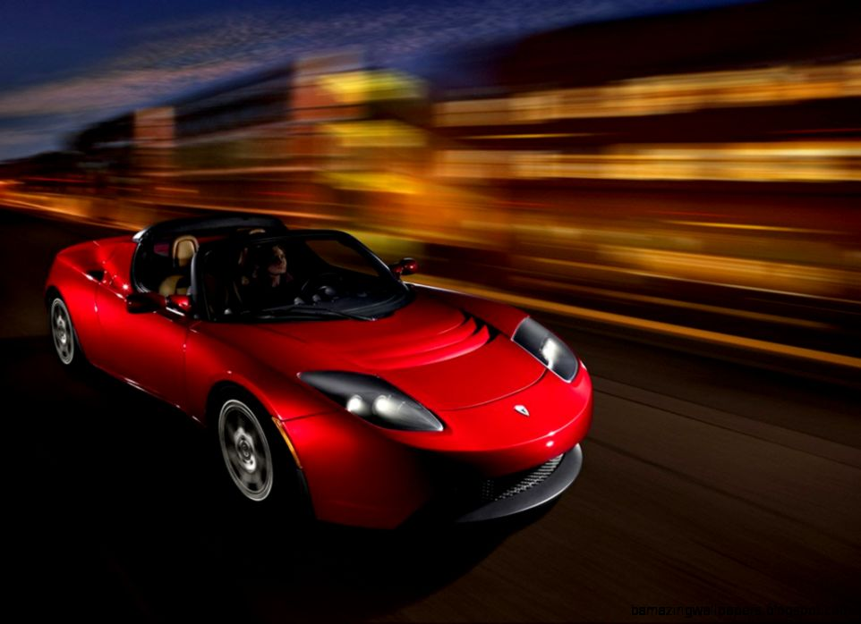 Modern Collectibles The Tesla Roadster charging into the History