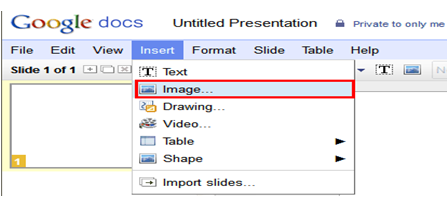 Avail Videos form Google Docs to PowerPoint