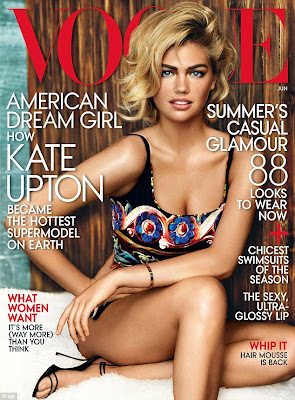 Kate Upton is on The Cover of Vogue US June 2013