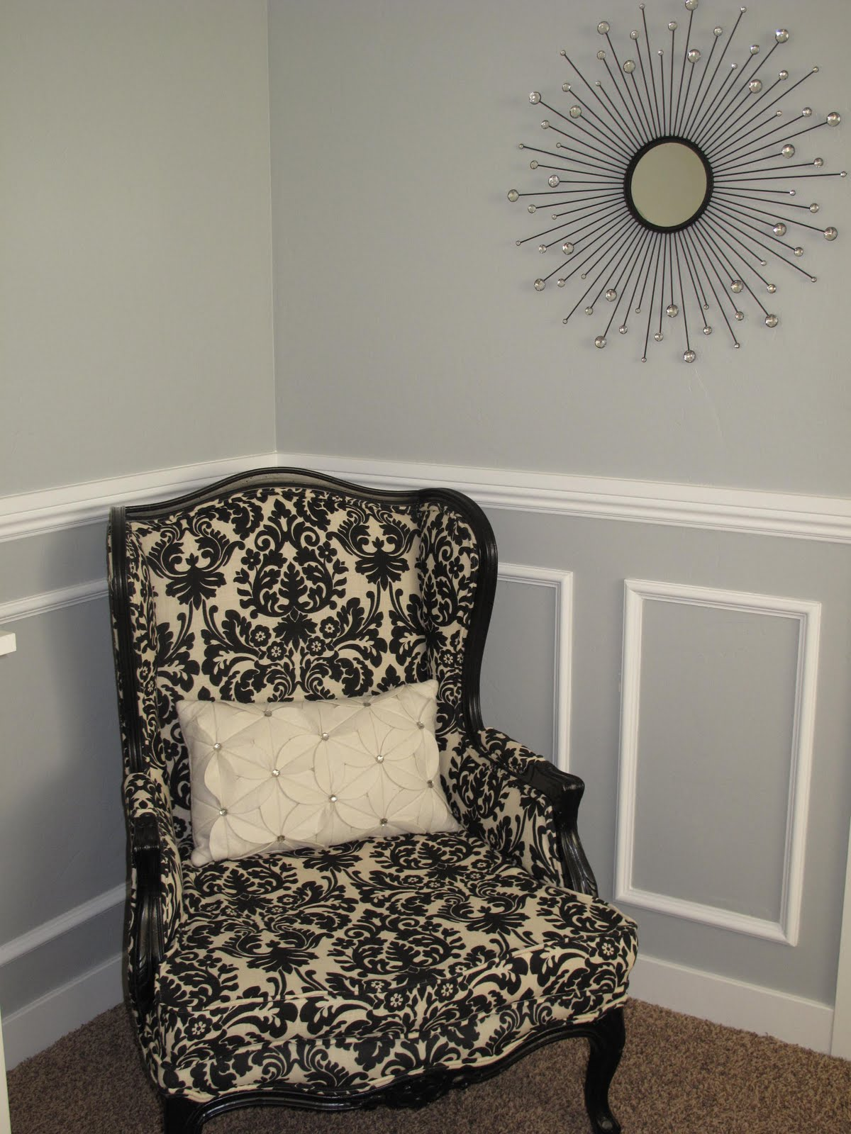 Chair Rail For Dining Room Little Miss Penny Wenny How To Install Chair Rail Moulding
