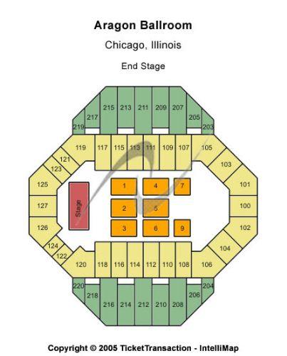 Ballroom Lighting Pic: Aragon Ballroom Seating Chart