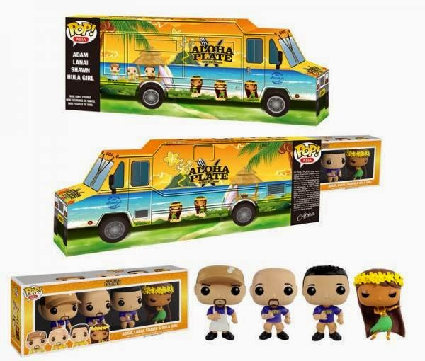 Funko Pop! ASIA Aloha Plate Blue Shirts