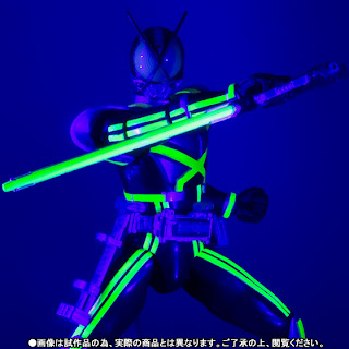 Bandai SH Figuarts Kamen Rider Kaixa with Glowing Stage