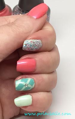 manicure, glitter, shimmer,