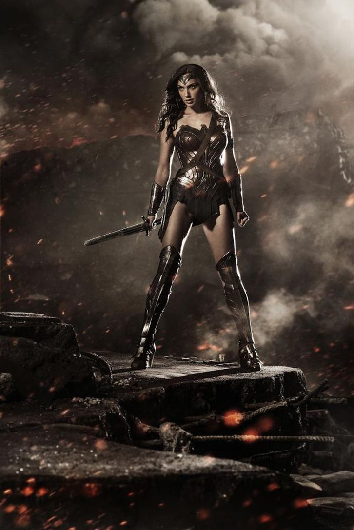 MOVIES: Batman v Superman - First Look at Gal Gadot as Wonder Woman