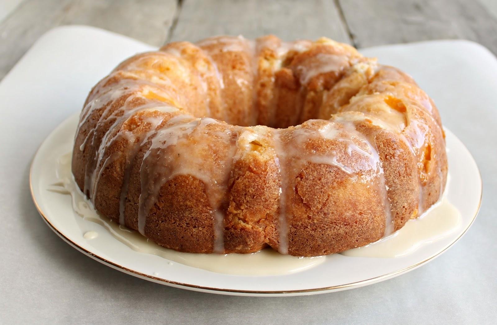 Recipe peach bundt cake
