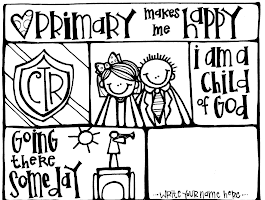 Lds Family Home Evening Coloring Pages