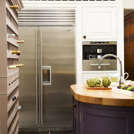 Country Kitchen Fridge: New Home Interior Design: 20 Steps To The Perfect Country