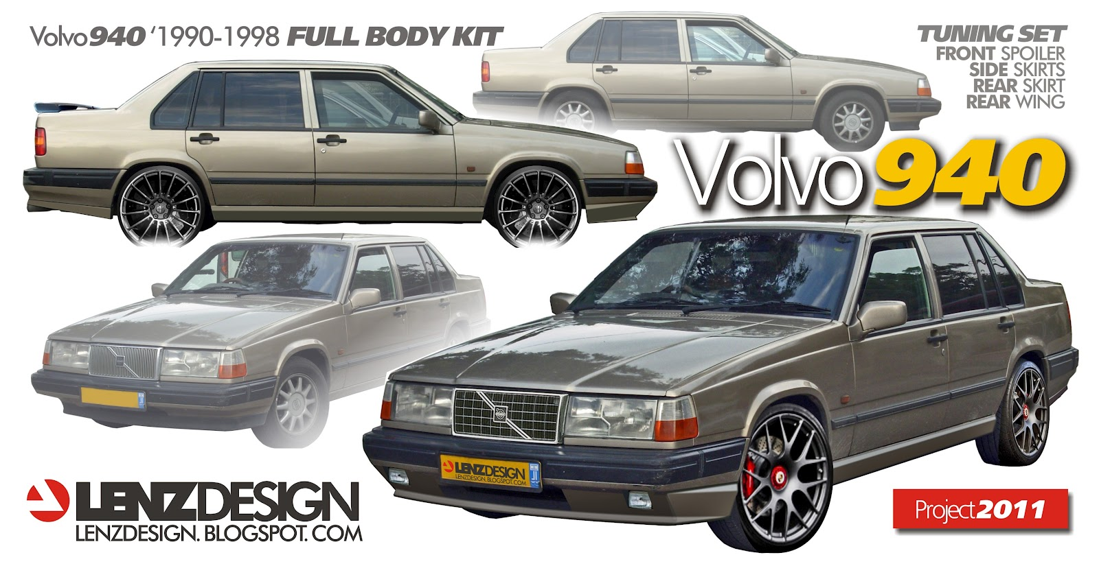 93 Volvo 940 Car Tuning