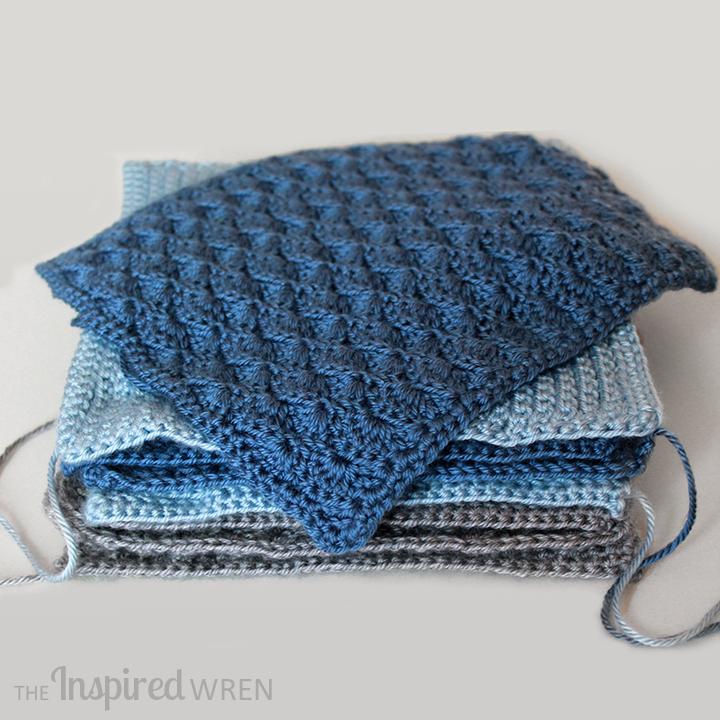 Free Crochet Patterns Sampler Afghan : The Inspired Wren: Square 5! Crochet Along Afghan Sampler ...