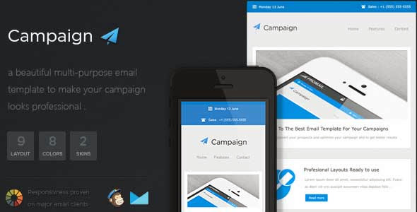 Campaigner – Responsive Email Template